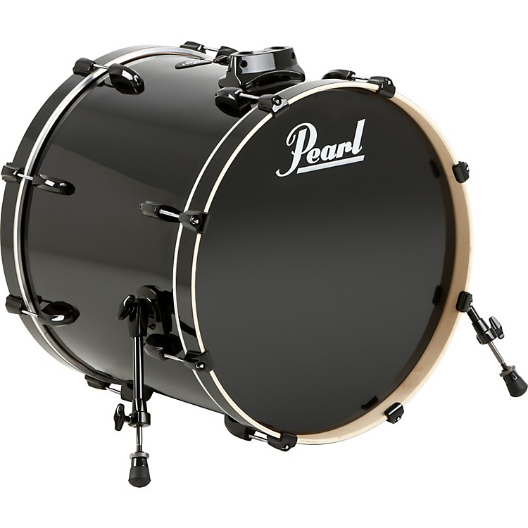 PearlVision Birch Bass DrumJet Black22x18