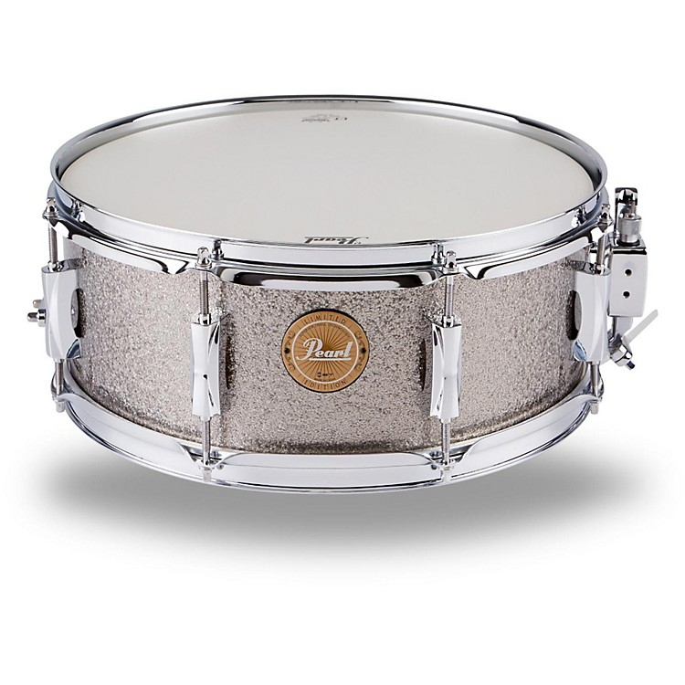 PearlVision Birch Snare DrumBlack with Black Hardware14x5.5