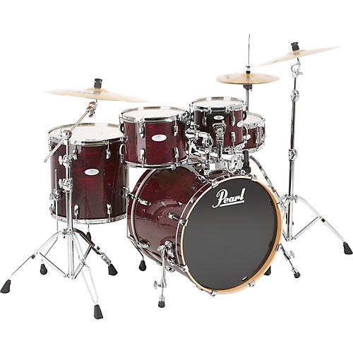 Pearl Vision Maple Lacquer New Fusion Shell Pack Sangria