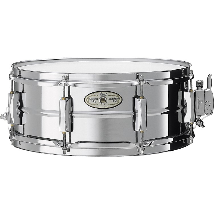 Pearl Vision SensiTone Steel Snare Drum 14X5.5