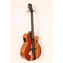 Luna Guitars Vista Bear Acoustic-Electric Guitar Level 2 Gloss Natural 888366027653