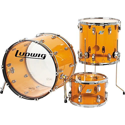 Ludwig Vistalite 3-Piece Shell Pack