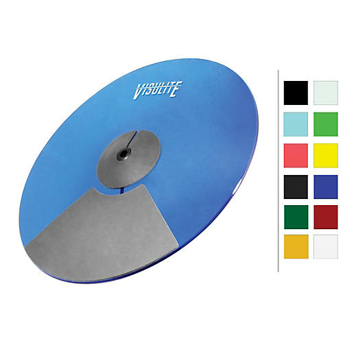 Pintech VisuLite Professional Dual Zone Ride Cymbal 18 in. Fluorescent Blue