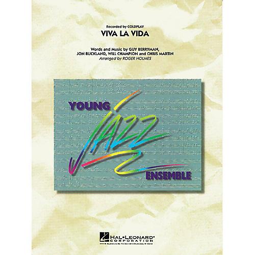 Hal Leonard Viva La Vida Jazz Band Level 3 by Coldplay Arranged by Roger Holmes-thumbnail