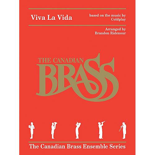 Canadian Brass Viva La Vida for Brass Quintet Brass Ensemble Book by Canadian Brass Arranged by Brandon Ridenour-thumbnail
