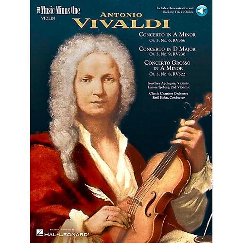 Hal Leonard Vivaldi Concerti Opus 3, nos 6 8 and 9