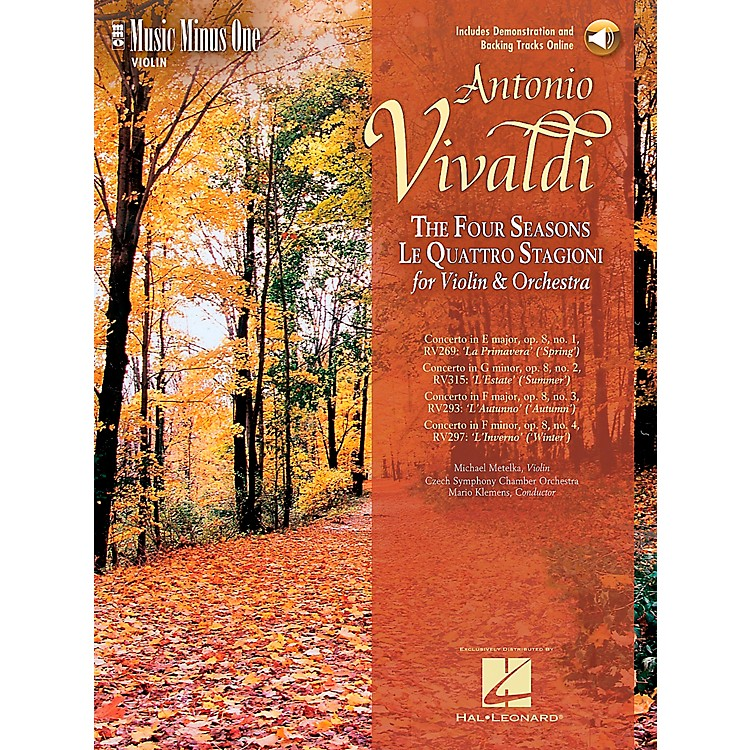 Hal Leonard Vivaldi Four Seasons Violin