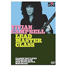 Music Sales Vivian Campbell - Lead Master Class Music Sales America Series DVD Performed by Vivian Campbell