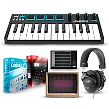 Alesis Vmini Portable 25-Key USB-MIDI Keyboard Controller Packages Mobile Advanced Package