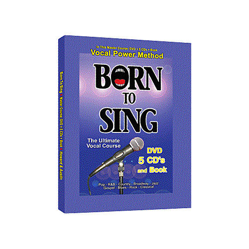 Born to Sing Vocal Master Course (DVD + 5 CD's + Book)