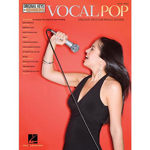 Hal Leonard Vocal Pop - Original Keys For Female Singers