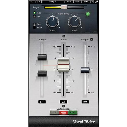 Waves Vocal RiderTDM Software  Download