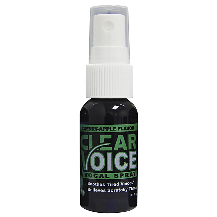Clear Voice Vocal Spray Cherry Apple