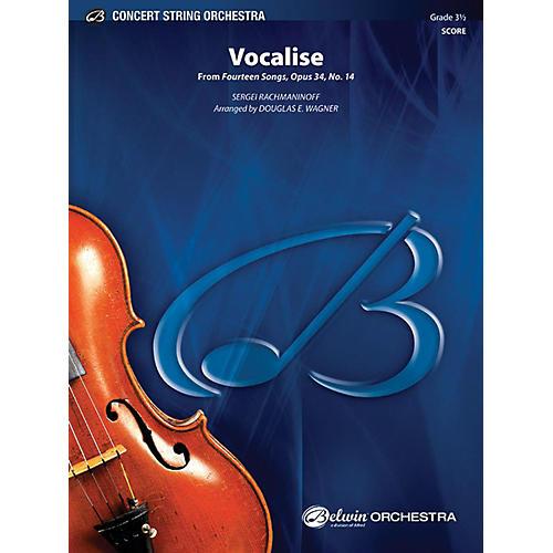 Alfred Vocalise String Orchestra Grade 3.5