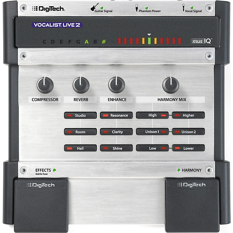 DigiTechVocalist Live 2 Harmony Processor
