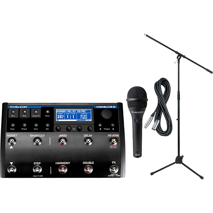 TC HeliconVoiceLive 2 with MP-75 Mic