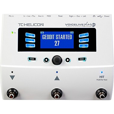 VoiceLive Play GTX Guitar/Vocal Harmony and Effects Pedal