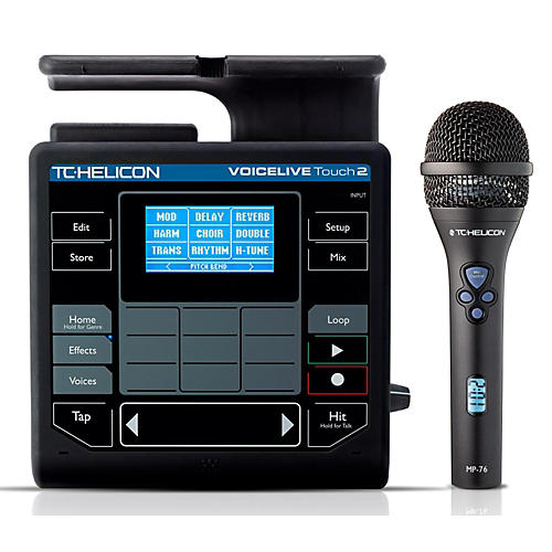 TC Helicon VoiceLive Touch 2 & MP-76 Bundle-thumbnail