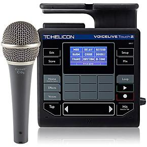 tc helicon voicelive touch 2 with cobalt co9 mic bundle musician 39 s friend. Black Bedroom Furniture Sets. Home Design Ideas