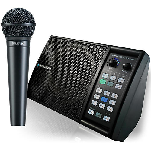 TC Helicon VoiceSolo FX150 with DRV100 Mic Bundle-thumbnail