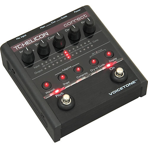 TC Helicon VoiceTone Correct Vocal Pedal-thumbnail