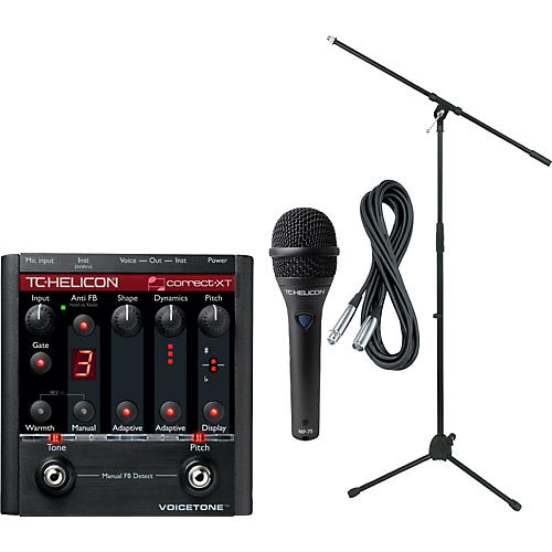 TC Helicon VoiceTone Correct XT with MP-75 Mic