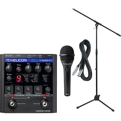 TC Helicon VoiceTone Create XT with MP-75 Mic
