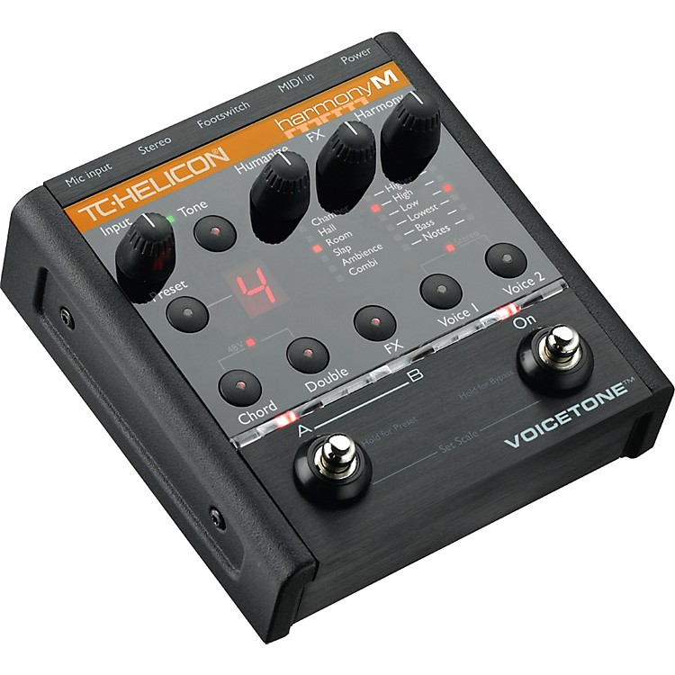 TC Helicon VoiceTone Harmony-M Vocal Effects Pedal for Keyboard