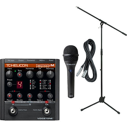 TC Helicon VoiceTone Harmony M with MP-75 Mic