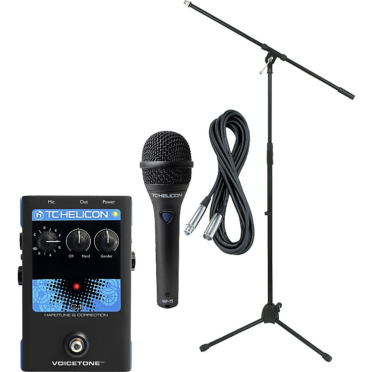 TC Helicon VoiceTone Single C1 with MP-75 Mic