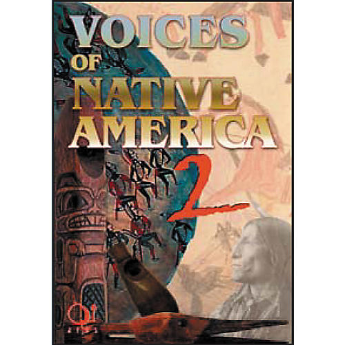 Q Up Arts Voices of Native America V2 AIFF 2 Disc Set