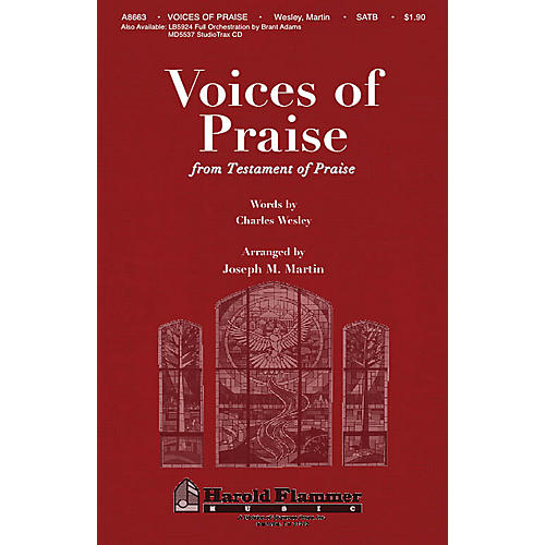 Shawnee Press Voices of Praise (from Testament of Praise) SATB arranged by Joseph M. Martin-thumbnail