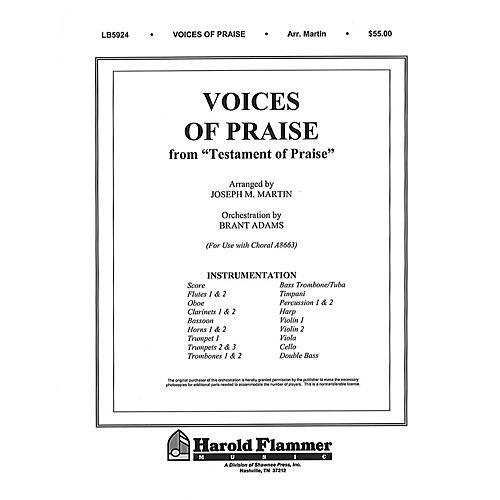 Shawnee Press Voices of Praise (from Testament of Praise) Score & Parts arranged by Joseph M. Martin-thumbnail