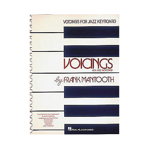 Hal Leonard Voicings For Jazz Keyboard Book-thumbnail