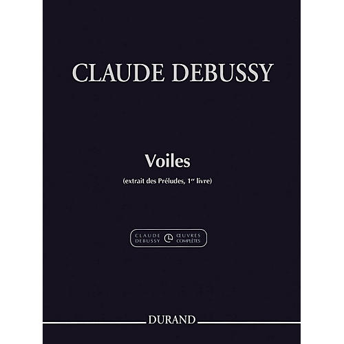 Durand Voiles (Excerpt from Preludes Volume 1) Editions Durand Series Softcover-thumbnail