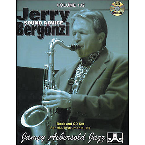Jamey Aebersold (Vol. 102) Jerry Bergonzi-thumbnail