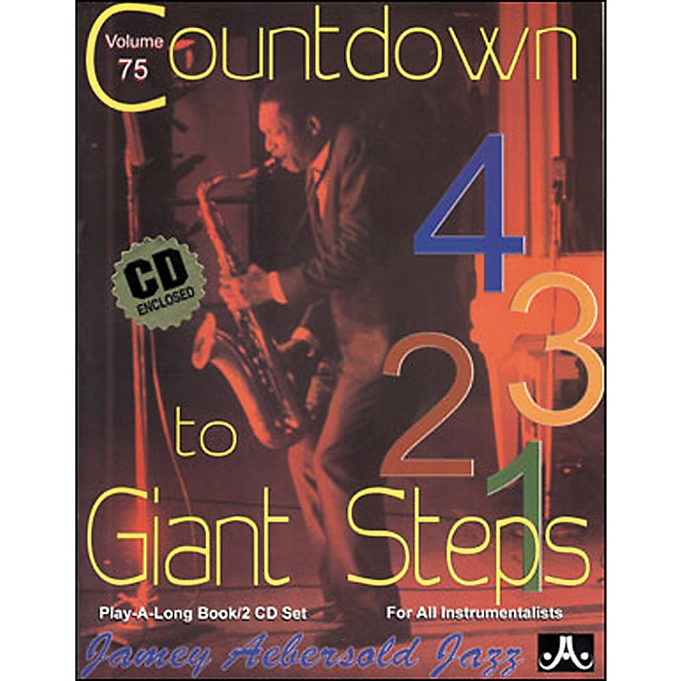 Jamey Aebersold (Vol. 75) Countdown to Giant Steps