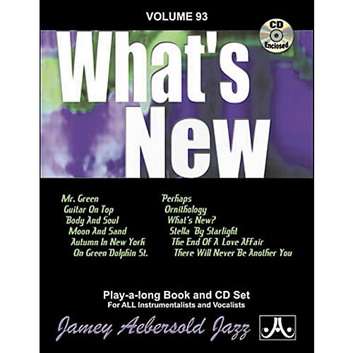 Jamey Aebersold (Vol. 93) What's New