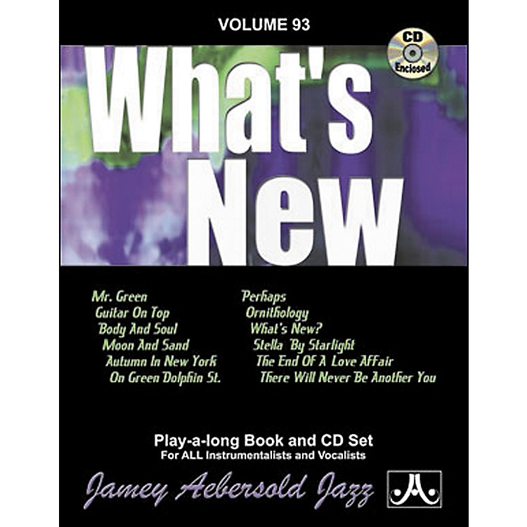 Jamey Aebersold(Vol. 93) What's New