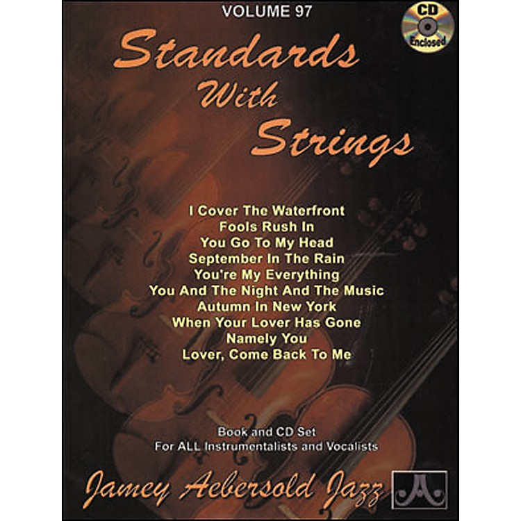 Jamey Aebersold(Vol. 97) Standards with Strings