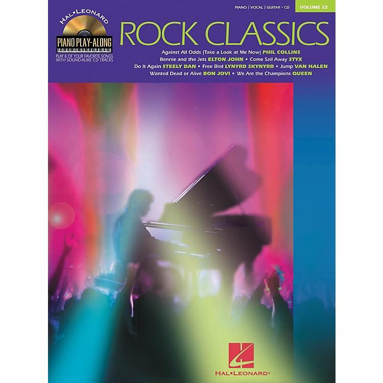 Hal LeonardVolume 22 - Rock Classics Piano, Vocal, Guitar Songbook & CD Package
