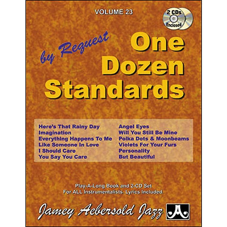 Jamey AebersoldVolume 23 - One Dozen Standards - Book and 2-CD Set
