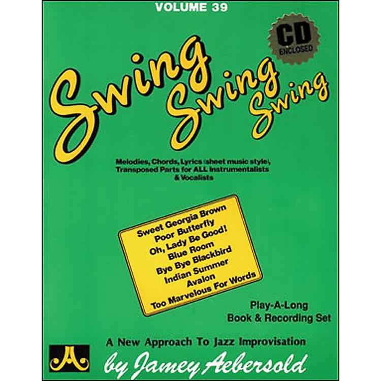 Jamey AebersoldVolume 39 - Swing, Swing, Swing - Book and CD Set