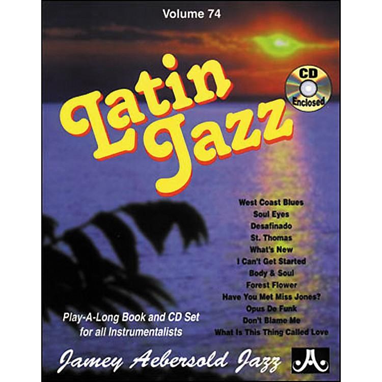Jamey AebersoldVolume 74 - Latin Jazz - Play-Along Book and CD Set