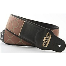 Right On Vox Diamond Jazz Leather Ornament Guitar Strap