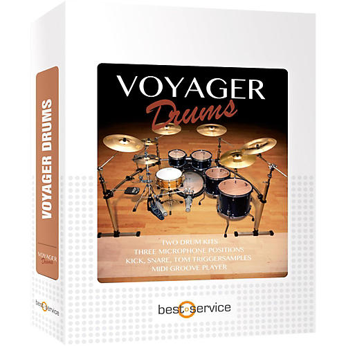 Best Service Voyager Drums-thumbnail