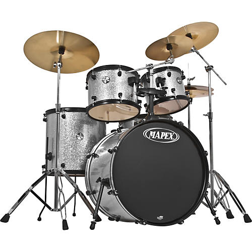 Mapex Voyager Ltd Ed SRO 5-Piece Drum Set with Cymbals & Throne-thumbnail