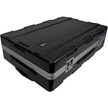 Open BoxMoog Voyager Molded ATA Road Case with Handle Wheels & Moog Logo