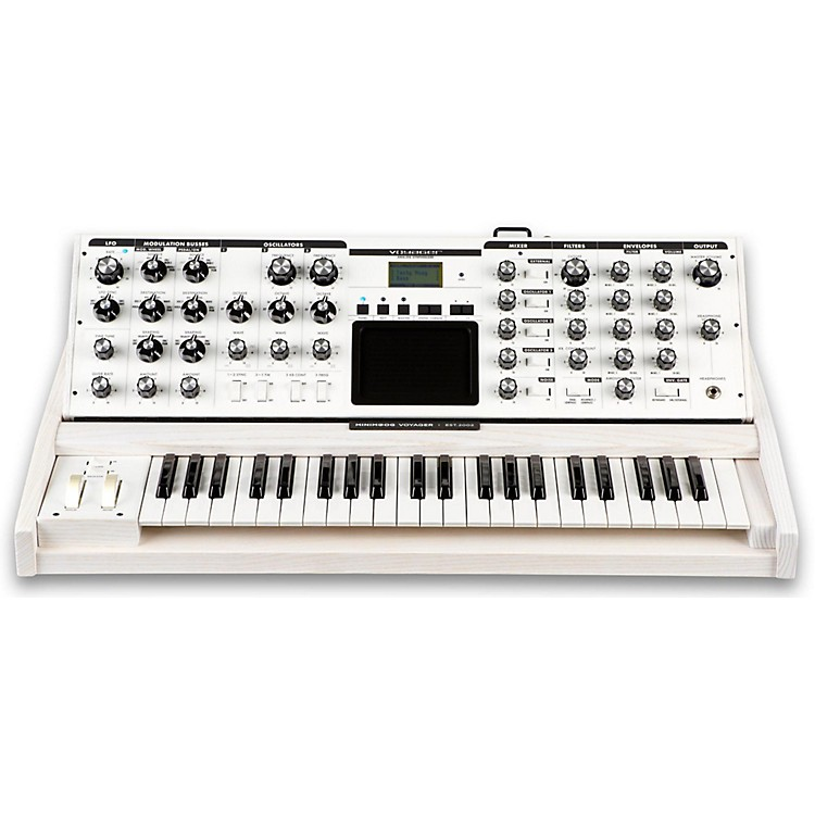 MoogVoyager Performer Edition SynthesizerWhite