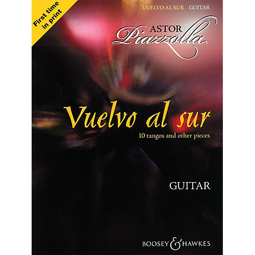 Boosey and Hawkes Vuelvo al Sur (10 Tangos and Other Pieces Guitar Solo) Boosey & Hawkes Miscellaneous Series Softcover-thumbnail